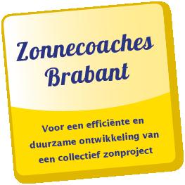 Zonnecoaches Brabant voor hulp bij collectieve zonnepanelen, zonnedaken en zonneweides